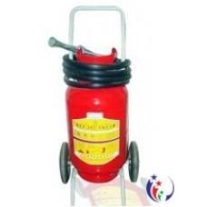 Bình cứu hỏa xe kéo bột khô tổng hợp ABC 35kg