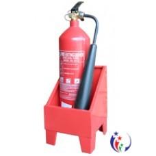 Kệ đơn để một bình chữa cháy