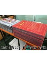 Bảng mica PCCC nội quy tiêu lệnh chữa cháy