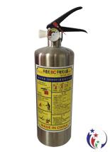 Bình cứu hỏa mini inox 1kg cho xe ô tô