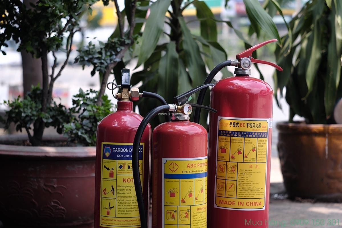 nới bán bình chữa cháy có kiểm định