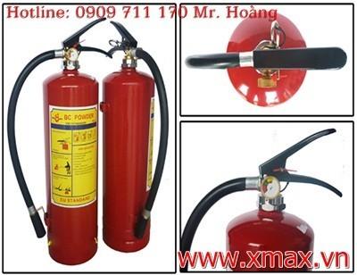 Cửa hàng cung cấp bình chữa cháy bột khí các loại nhập khẩu từ nước ngoài có bảo hành giao hàng miễn phí 1