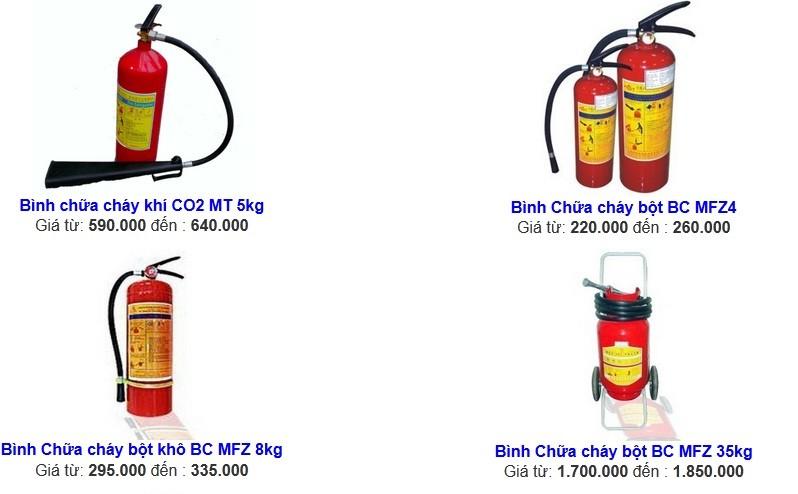 Giá bán thiết bị cứu hỏa khí CO2 được nhập khẩu nước ngoài đáp ứng tiêu chuẩn nghiêm ngặt của Cục PCCC VN 1