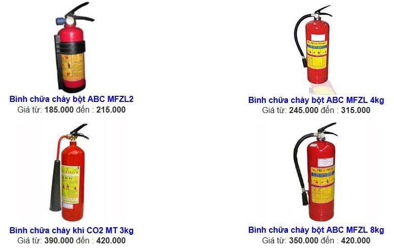 Giá bán thiết bị cứu hỏa khí CO2 được nhập khẩu nước ngoài đáp ứng tiêu chuẩn nghiêm ngặt của Cục PCCC VN 2