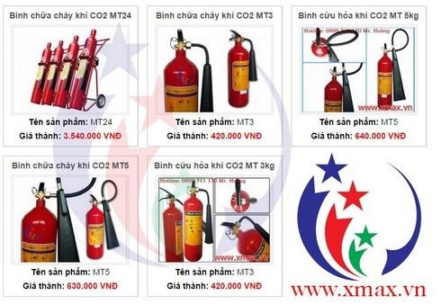 Giá bán các loại bình chữa cháy cứu hỏa cùng các thiết bị hệ thống phòng cháy chữa cháy phân phối tại TPHCM 3