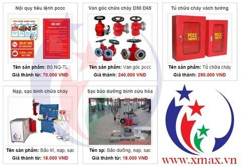 Giá bán các loại bình chữa cháy cứu hỏa cùng các thiết bị hệ thống phòng cháy chữa cháy phân phối tại TPHCM 5