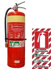 Một vài phương pháp giúp phân biệt thành phần và công dụng của từng loại bình cứu hỏa 2014 phần 3