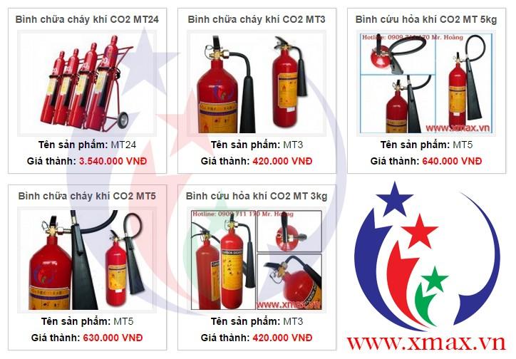 Bảng giá bán bình chữa cháy cập nhật đầy đủ nhất năm 2014 với dịch vụ giao hàng tận nơi miễn phí tại TPHCM 3