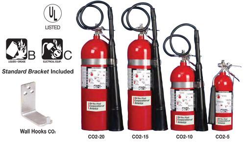 Giá bán bình chữa cháy co2