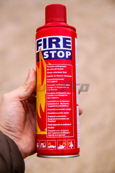 Khả năng chữa cháy thực tế của bình cứu hỏa mini fire stop loại giá rẻ 500ml và 1000ml 2