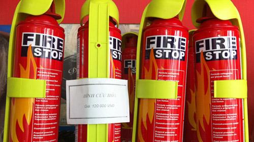 Bán bình chữa cháy mini cho ô tô xe tải giá rẻ - Bảng báo giá 2016 ảnh 6