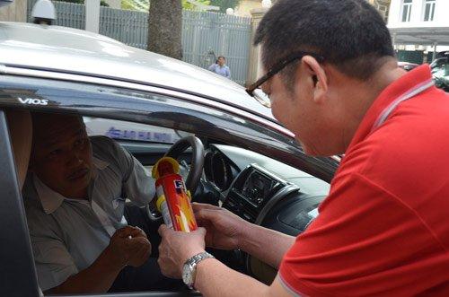 Bán bình chữa cháy mini cho ô tô xe tải giá rẻ - Bảng báo giá 2016 ảnh 1