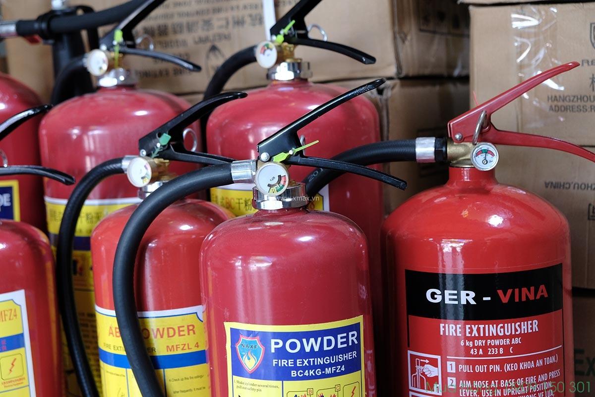 địa chỉ mua bình chữa cháy có kiểm định chính hãng